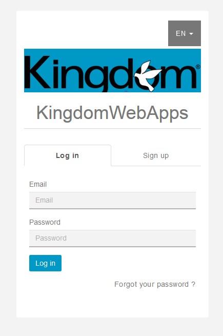Mobile Application Logging In
